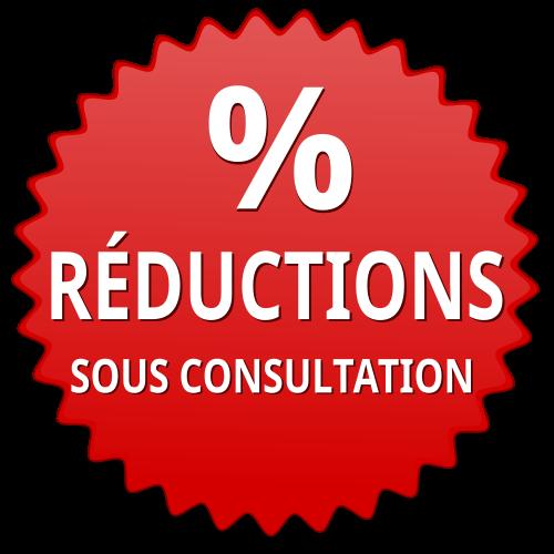 Réductions sous consultation