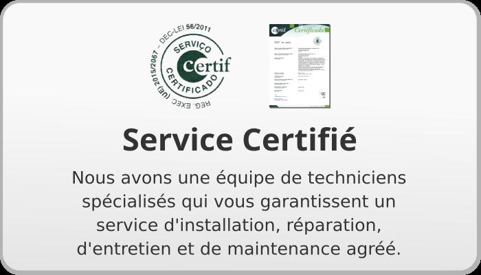 Service Certifié