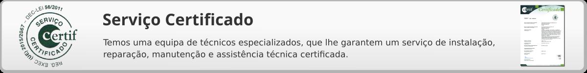 Serviço Certificado